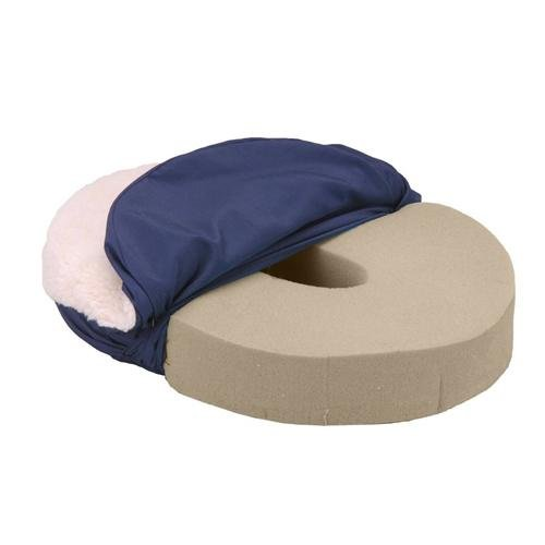 Convoluted Foam Comfort Ring with Fleece Cover