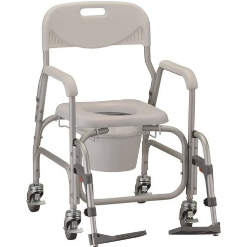 Deluxe Shower Chair and Commode