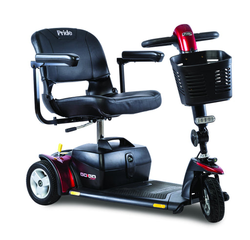 Go-Go Sport 3 Wheel mobility scooter - pride - harmony home medical