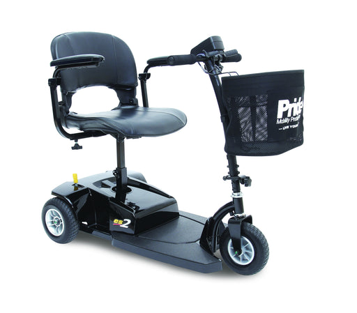 Go-Go ES 2 3 wheel mobility scooter - pride - harmony home medical