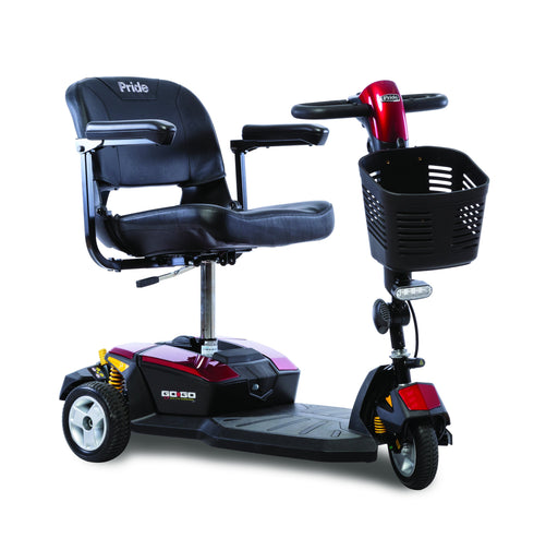 Go-Go LX with CTS Suspension 3 Wheel mobility scooter - pride - harmoy home medical