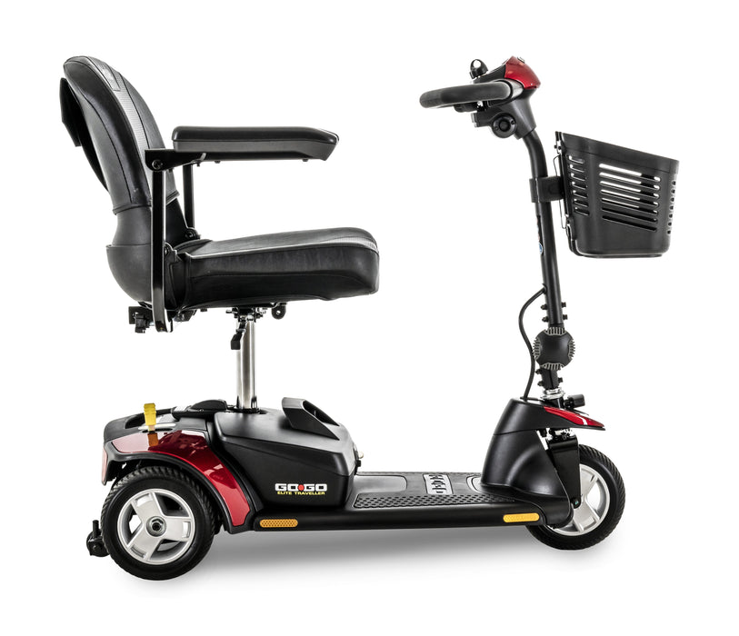 Go-Go Elite Traveller 3 Wheel mobility scooter - pride - harmony home medical