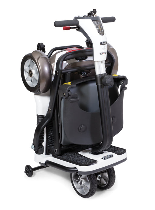 go go folding scooter with sla mobility scooter - pride - harmony home medical