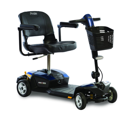 Go-Go LX with CTS Suspension 4 Wheel mobility scooter - pride - harmony home medical