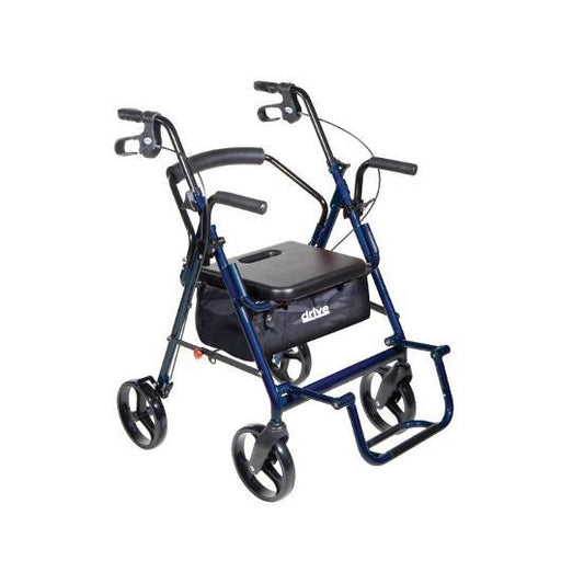 Duet Transport Chair and Rollator - drive medical - harmony home medical