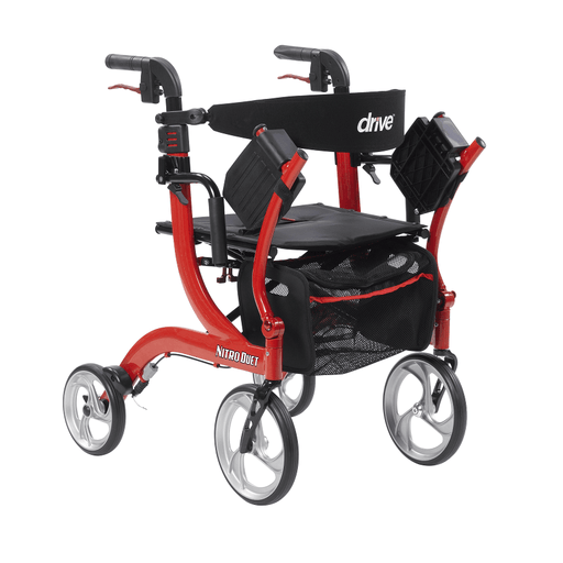 Nitro Duet Rollator and Transport Chair - drive medical - harmony home medical