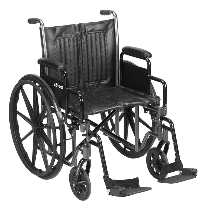 Silver Sport 2-350 manual wheelchair - drive medical - harmony home medical