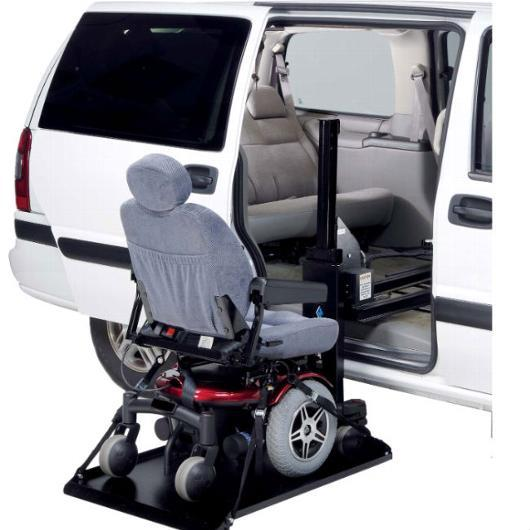 AL690 Side-Door Hybrid Platform vehicle lift - harmar - harmony home medical