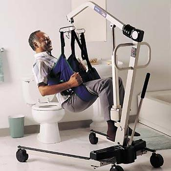 Toileting Sling with Belt - invacare - harmony home medical