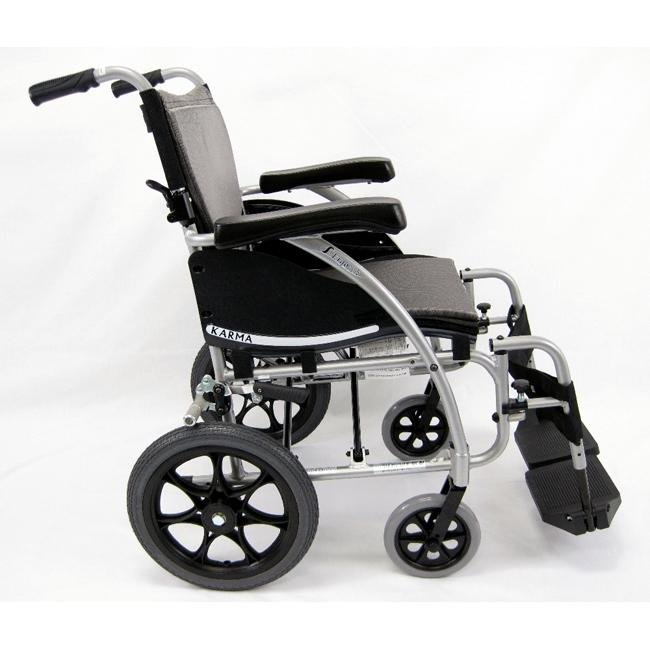 Lightweight S-Ergo 115 Transport lightweight manual wheelchair - karman healthcare - harmony home medical