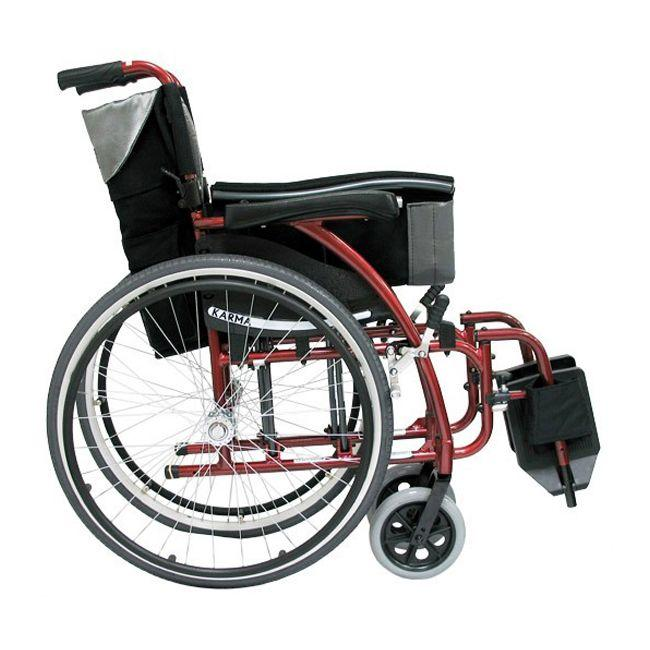 Lightweight S-Ergo 115/125 manual wheelchair - karman healthcare - harmony home medical