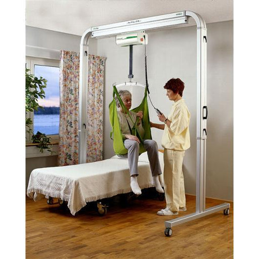 FreeSpan™ SR with Likorall 200 Lift Motor overhead track patient lift - liko - harmony home medical