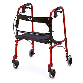 cruiser de-light rolling walker - nova - harmony home medical