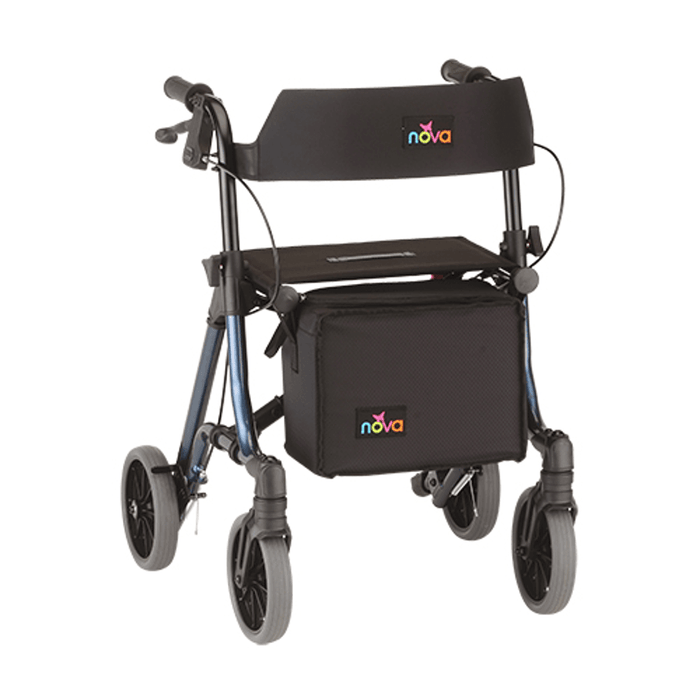forte rolling walker - nova - harmony home medical