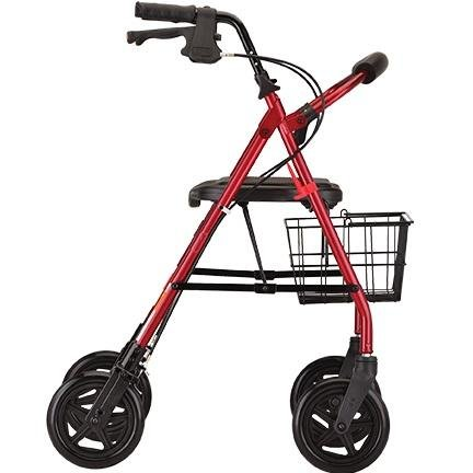 mack heavy duty rolling walker - nova - harmony home medical