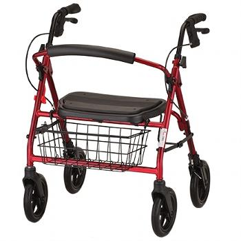 Mini Mack Heavy Duty rolling walker - nova - harmony home medical
