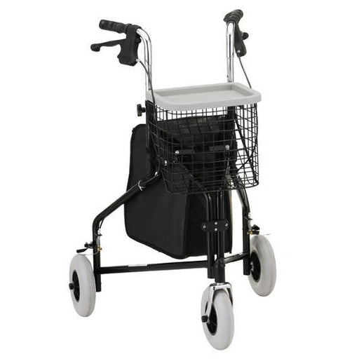 traveler 3 wheel rolling walker - nova - harmony home medical