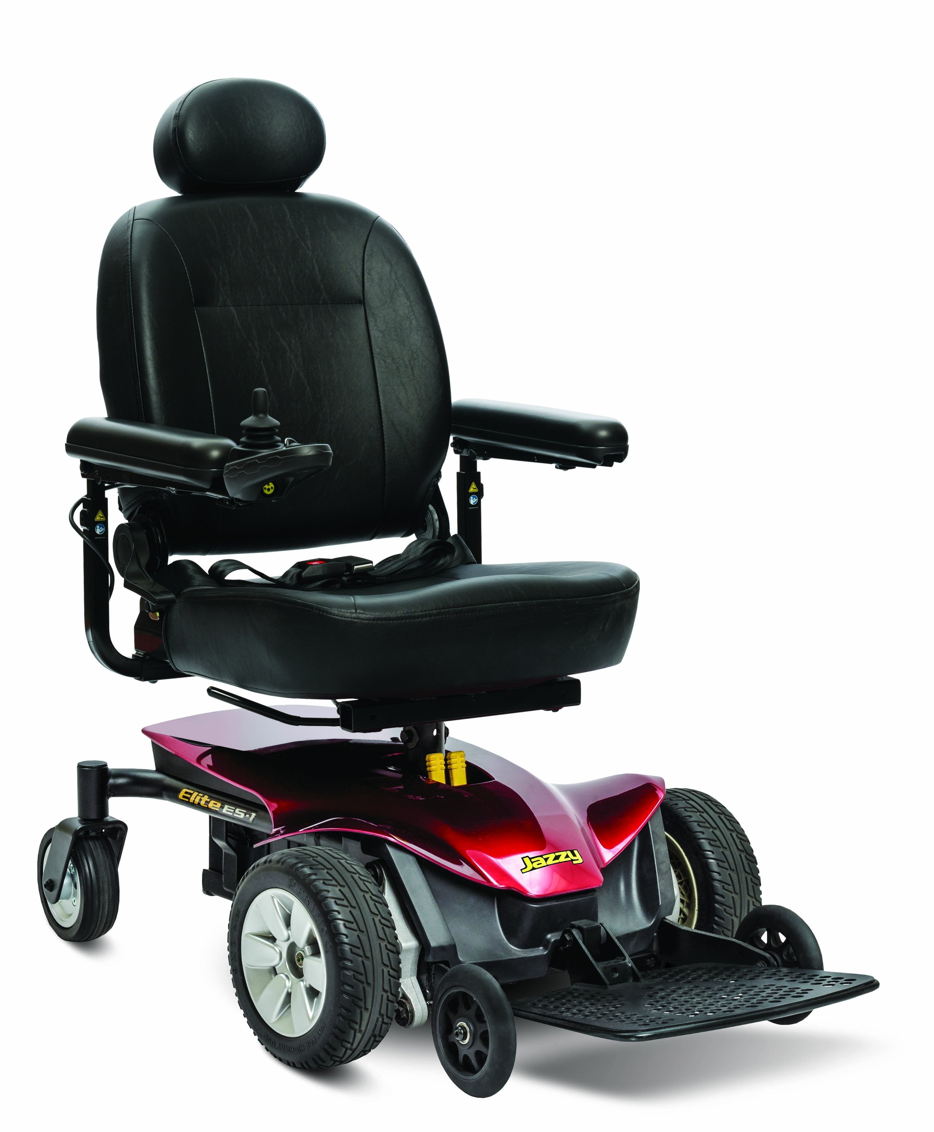 Jazzy® Elite ES-1 full size power wheelchair - pride - harmony home medical