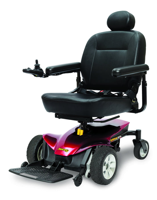 Jazzy® Elite ES Portable full size power wheelchair - pride - harmony home medical