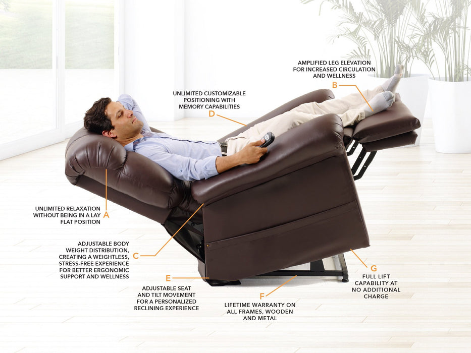 lift chair - golden tech - harmony home medical
