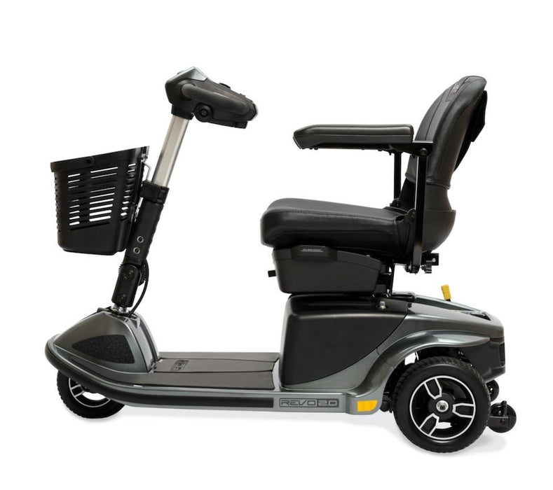 Revo 2.0 3 Wheel mobility scooter - pride - harmony home medical