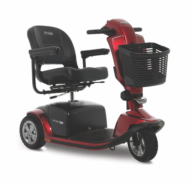 Victory 10.2 3-Wheel heavy duty mobility scooter - pride - harmony home medical