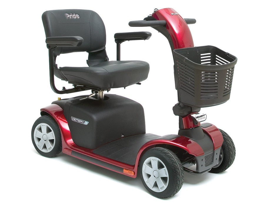 Victory 9 4 Wheel mobility scooter - pride - harmony home medical