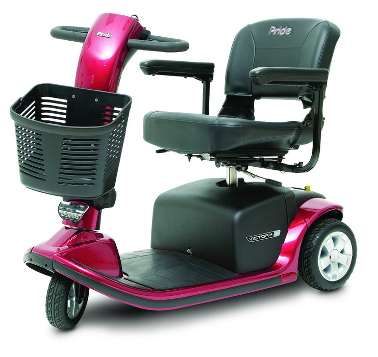 Victory 9 3 Wheel mobility scooter - pride - harmony home medical