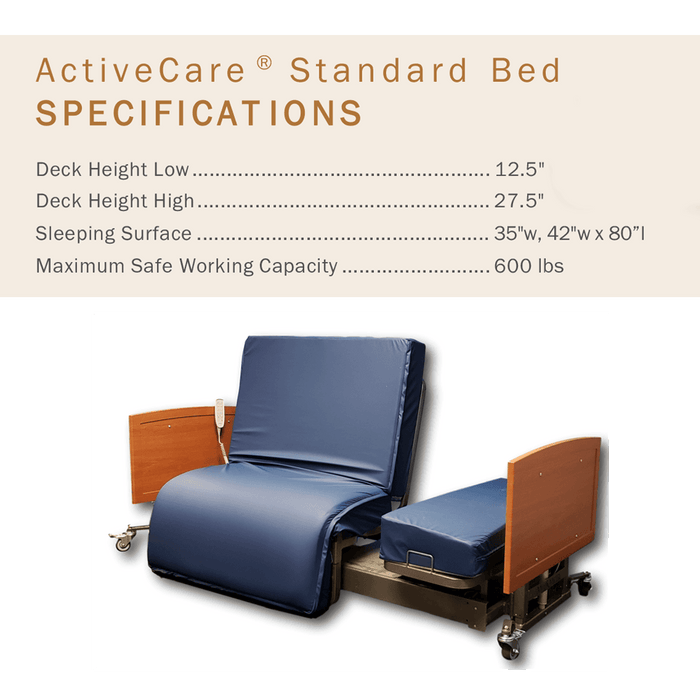ActiveCare Auto-Pivot Bed - medmizer - harmony home medical