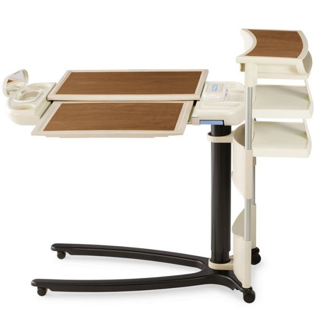 Art of Care Overbed Table 636 with Extension and Shelf - hillrom - harmony home medical