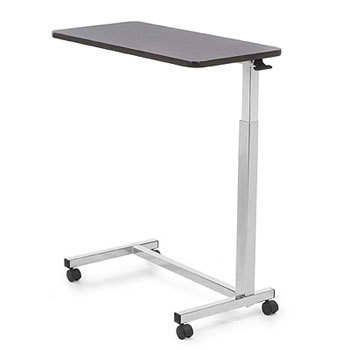Auto-touch overbed table - invacare - harmony home medical