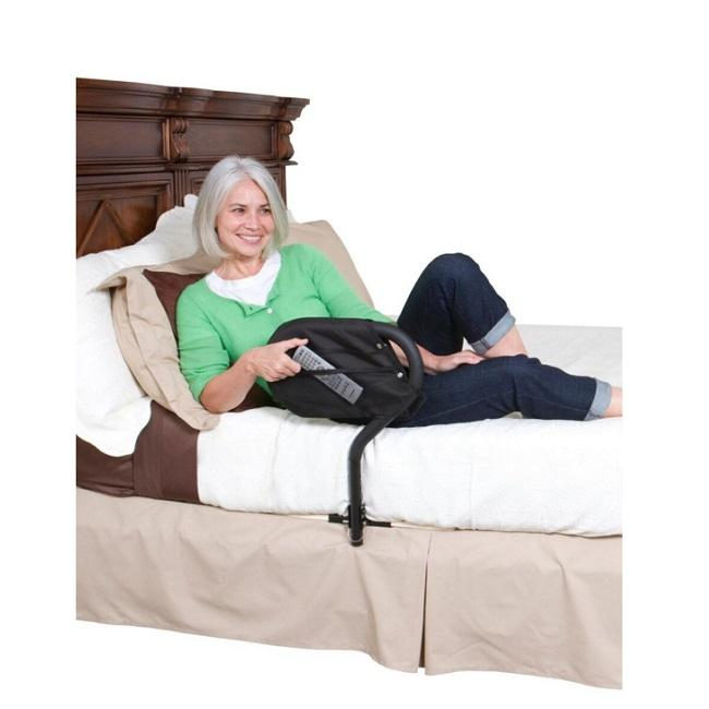 Bed Cane with 4 Pocket Organizer - stander - harmony home medical