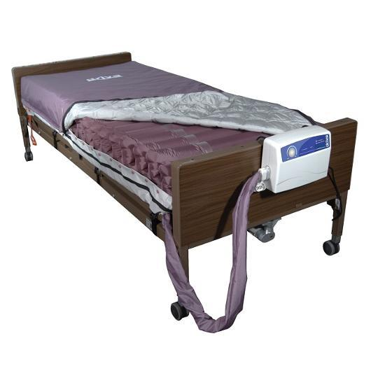 Med Aire Alternating Pressure Mattress Replacement System With Low Air Loss - Harmony Home Medical