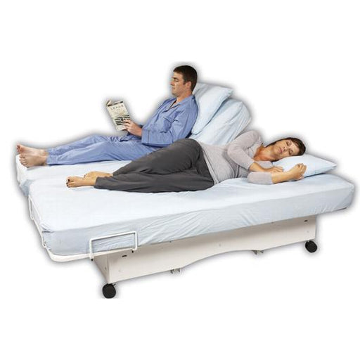The Valiant HD and Valiant Super HD Hi/Lo Bed heavy duty full electric bed - transfer master - harmony home medical
