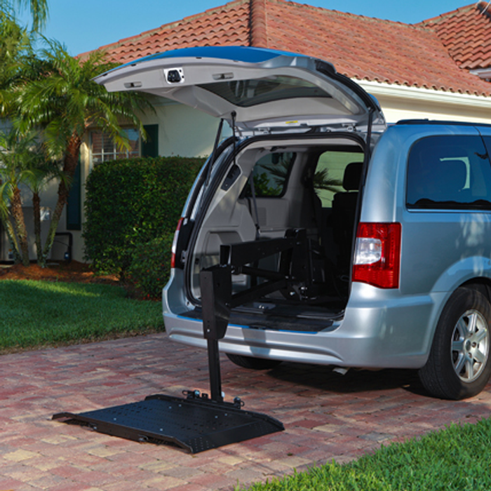 AL625 hybrid van vehicle lift - harmar - harmony home medical