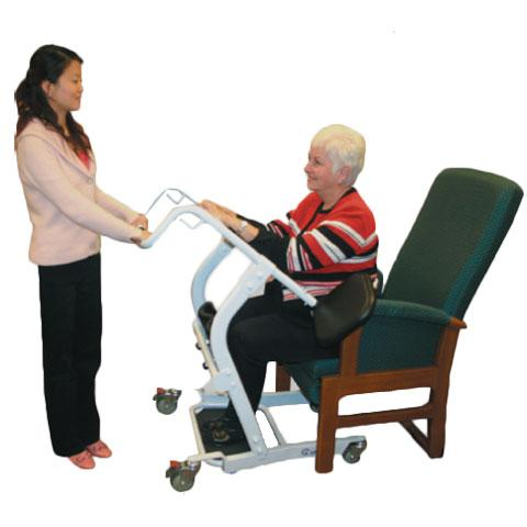 Spryte Manual Stand Aid Patient Lift - Harmony Home Medical