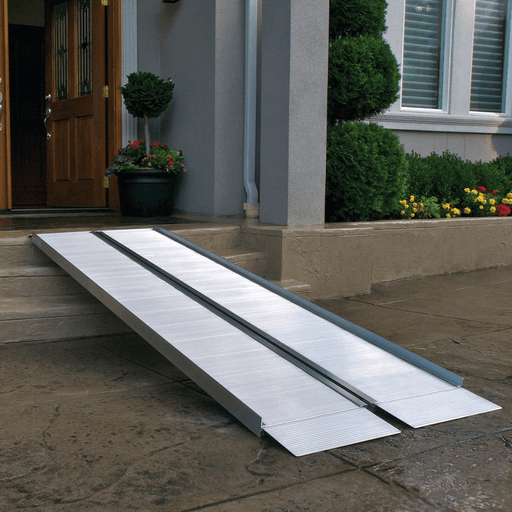 suitcase singlefold wheelchair ramp - ez-access - harmony home medical