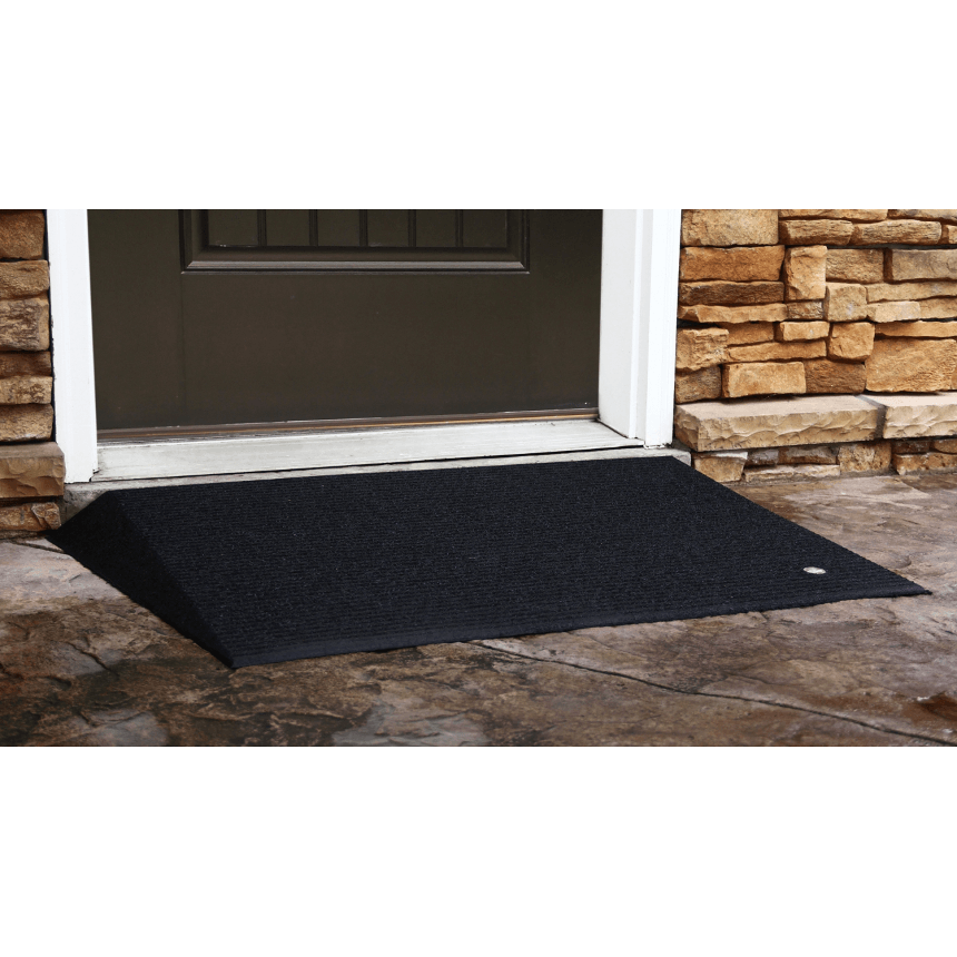 transitions angled entry mat - ez-access - harmony home medical