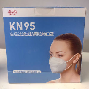 "BYD KN95 Mask (50 Per Pack)</br></br>Save 50% OFF With Code ""Heromed25""</br>"