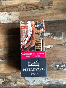 Peters Yard Pink Peppercorn sour dough crisp breads