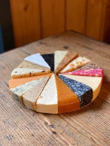 Cheese Wheel on foil base