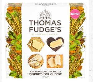 Thomas Fudge biscuits for cheese