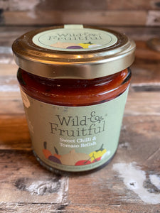 Sweet chilli and tomato chutney
