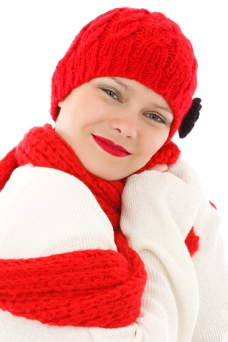 glowing skin in winter