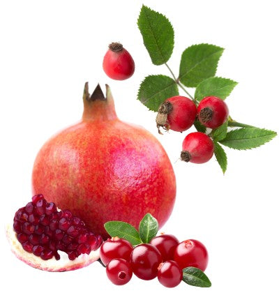 cranberry rosehip pomegranate to remove wrinkles