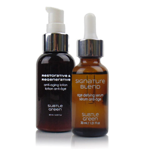 Anti-Aging Moisturizer and Serum Pack