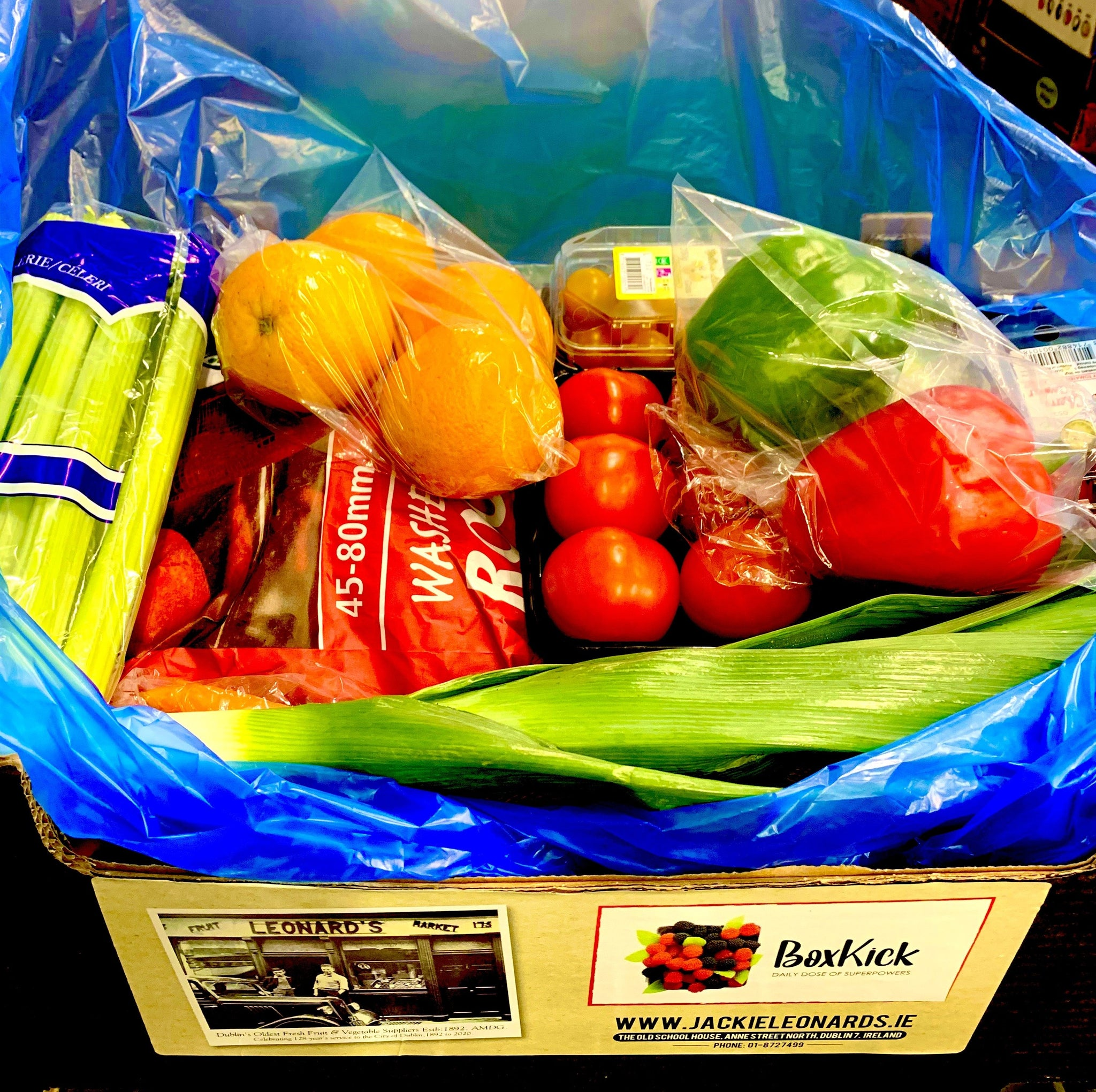 Medium Vegetable Box (Serves 4) - Jackie Leonards