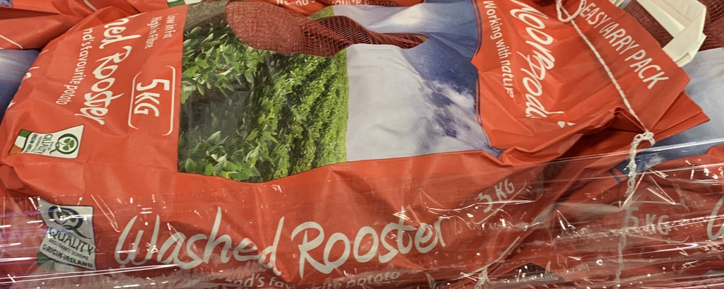 POTATO WASHED ROOSTER [x10kg] BAG - Jackie Leonards