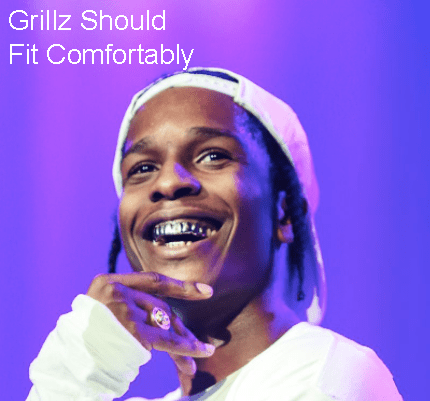 How to put on grillz?