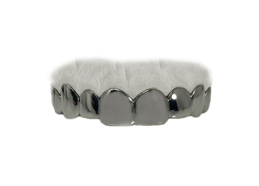Top 8 Grillz White Gold 10K